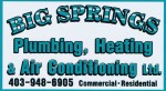 Big Springs Plumbing, Heating & Air Conditioning Ltd.